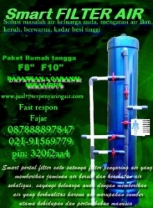 brosur filter penyaring air